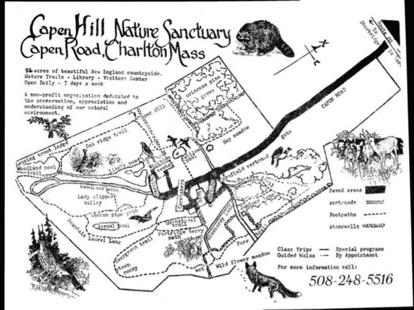Capen Hill Trail Map