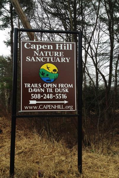 Capen Hill Sign