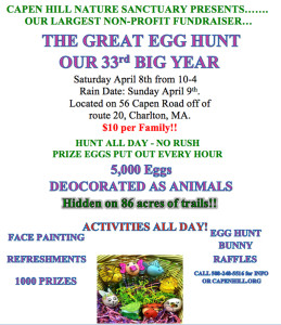 Egg Hunt Flyer 2017 Third