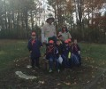 October 31st Pack 165 Den 15 and 4 visit!