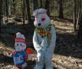 The Great Egg Hunt Bunny is on his way!