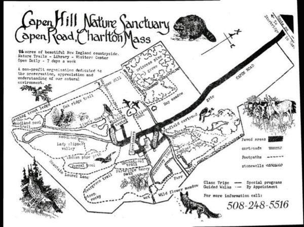 Capen Hill Trail Map