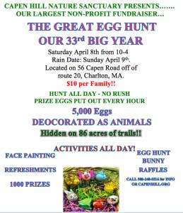 Egg Hunt Flyer 2017 Third