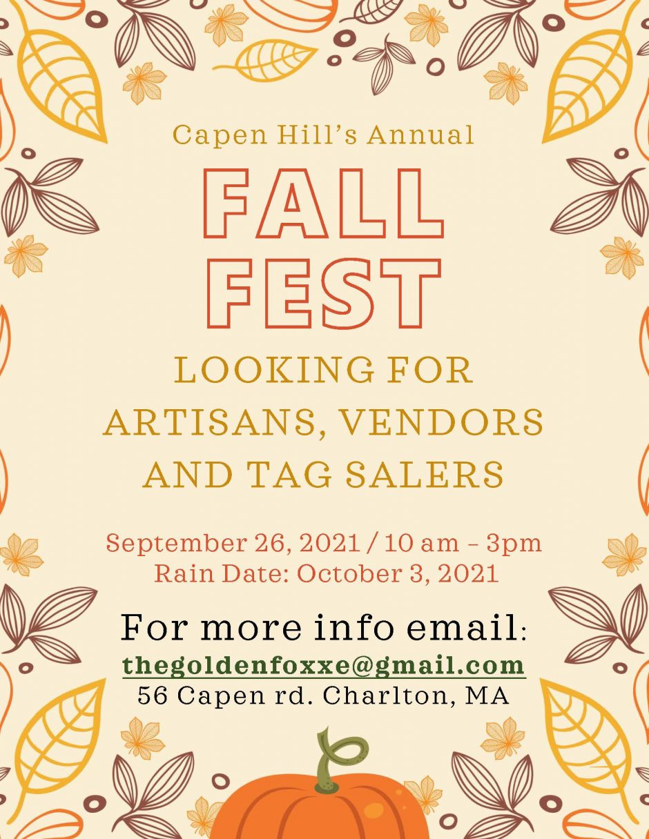 Not too late….Vendor Information